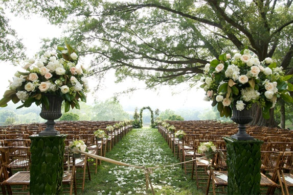 outside wedding decoration ideas for ceremony the how to s of wedding planning the ceremony wedding 6339
