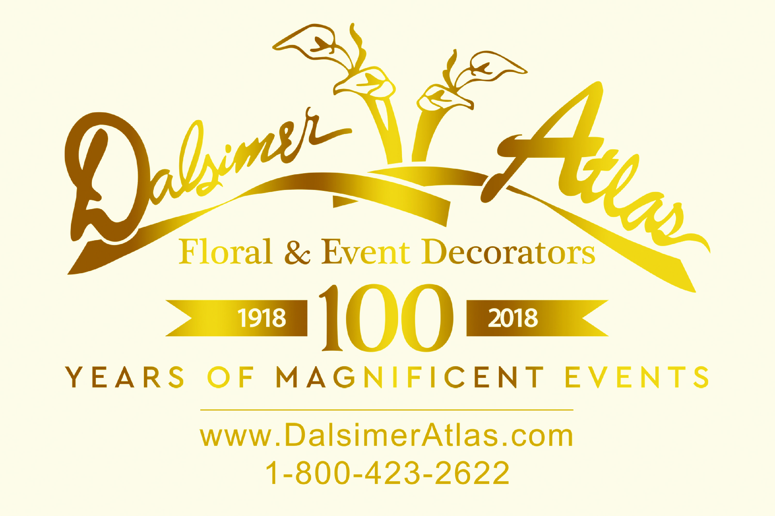 Dalsimer Atlas Floral And Event Decorators     DALSIMER ANNIVERSARY LOGO WEDDING AD.1 copy pdf  Dalsimer Atlas Floral And Event Decorators Dalsimer Atlas Floral And Event Decorators